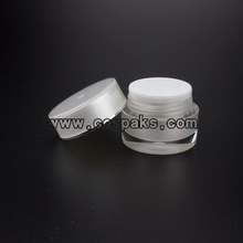 Pearl white jars JA21-5ml
